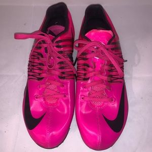 Nike Hot Pink Track Spikes